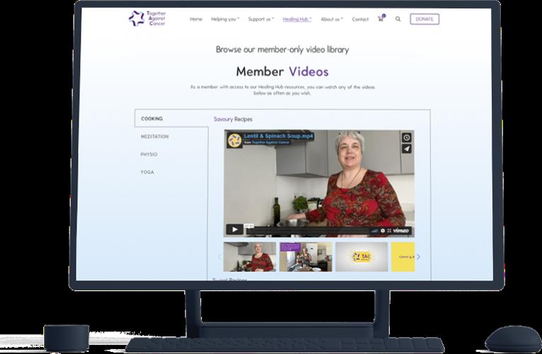 Member Hub visual